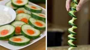 3 Fun & Easy Ways To Cut A Cucumber