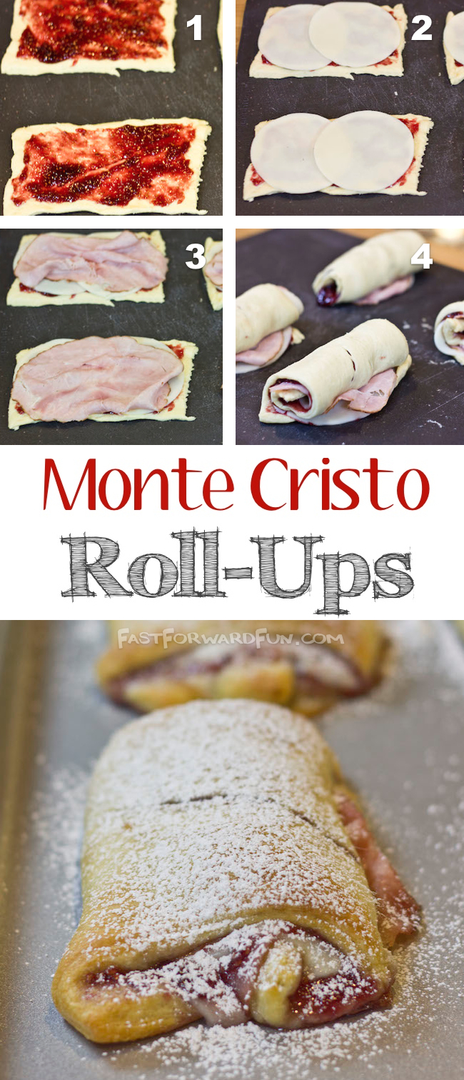 Easy Monte Cristo Recipe! (super fun video tutorial and step-by-step photos)   Fast Forward Fun