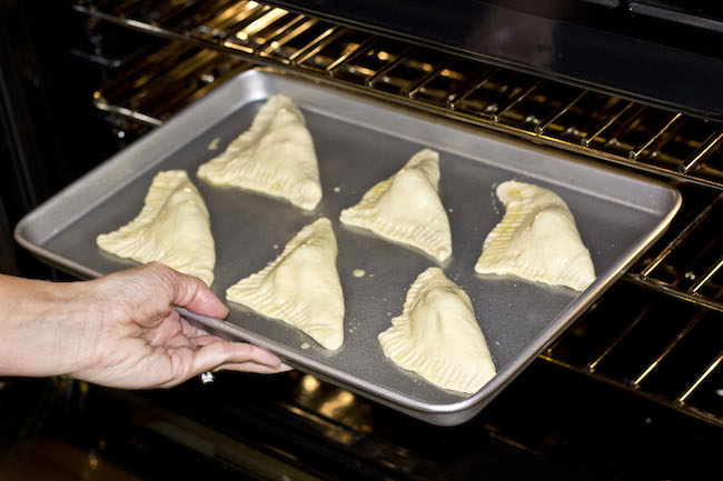 Nutella Pastry Pockets made with Crescent Rolls